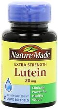 Nature Made Extra Strength Lutein 20mg, 30 Liquid Softgels