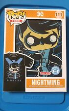Large or 2XL FUNKO POP TEES Target Exclusive Nightwing DC Comics Batman Shirt