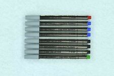 SCHMIDT P 8126 Multi-Color Short Capless System Roller Ball Variety Pack