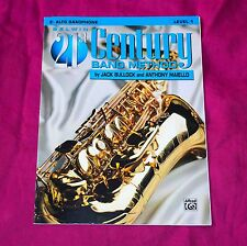 Eb Alto Saxophone, Belwin 21st Century Band Method, Level 1