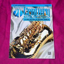 Eb Alto Saxophone, Belwin 21st Century Band Method, Level 1