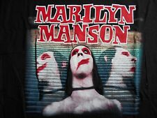 RARE VINTAGE MARILYN MANSON METAL ROCK GOTHIC SWEET DREAMS T SHIRT NEW WITH TAGS