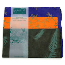 Fair Trade Lokta Paper Three Sheet Gift Wrap Pack GWP38