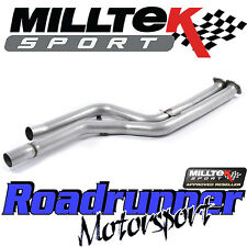 "Milltek BMW M3 F80 Saloon Decat Exhaust 3"" Secondary Cat Bypass Pipes SSXBM1032"