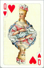 MARIE-ANTOINETTE REINE MARTYRE FRANCE PLAYING CARD CARTE A JOUER