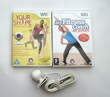 YOUR SHAPE AND CAMERA AND MY FITNESS COACH WII PAL
