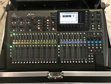 behringer Midas powered X32 32‑Channel Digital Mixer with Gator ROAD CASE