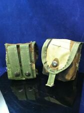 Lot of 2 NEW GENUINE USGI MOLLE II HAND GRENADE POUCH WOODLAND CAMO