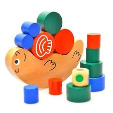 New Kids Baby Building Blocks Educational Snail Balance Stacking Game Wooden Toy