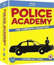 POLICE ACADEMY: THE COMPLETE COLLECTION New 7-Film BLU-RAY set 1 2 3 4 5 6 7 1-7