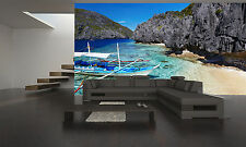 Tropical Beach, Philippines  Wall Mural Photo Wallpaper GIANT WALL DECOR