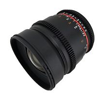 Rokinon 16mm T2.2 Ultra Wide Angle Cine Lens for Micro Four Thirds - CV16M-MFT