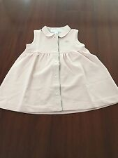NEW BURBERRY CHILDREN sleeveless baby dress AUTHENTIC size 6M 6 months pink