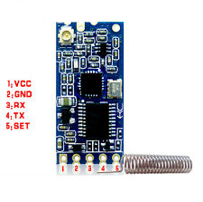 1Pcs 433Mhz HC-12 SI4463 Wireless Serial Port Module 1000m Remplacer Bluetooth