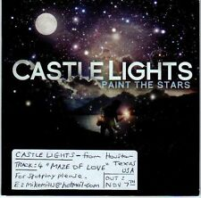(EL747) Castle Lights, Paint The Stars - 2010 DJ CD