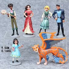 Elena of Avalor (Set Of 6) Birthday Cake Topper Figurines Toy Set
