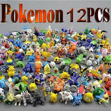 12Pcs/Lot Pokemon Toys 2-3cm Mini Cartoon PVC Action Kids Toys Action Figure