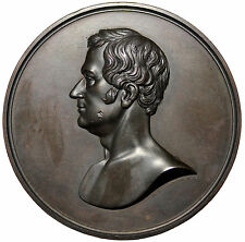 1859 Washington Irving Memorial Death Medal By A.J. Henning