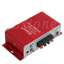 12V MA-180 Amplifier 2CH HiFi Booster Radio MP3 Stereo for Car Motorcycle Home