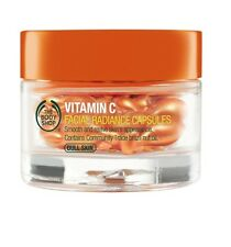 The Body Shop VITAMIN C FACIAL RADIANCE CAPSULES x28 for dull skin New