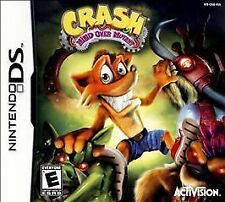 Crash: Mind Over Mutant (Nintendo DS, 2008) GAME ONLY NICE SHAPE NES HQ