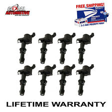 NEW PREMIUM HIGH PERFORMANCE IGNITION COIL FORD LINCOLN MERCURY DG511 (SET OF 8)