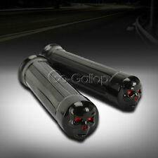 "1"" Skull Hand Grips Fit  Kawasaki VN Vulcan Classic MeanStreak Nomad 1600 1500"