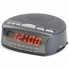 Lloytron ALBA Sveglia Da Viaggio + Radio Nero j2006bk