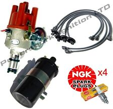 VW Beetle T1 T2 SVDA Distributor with Sports Coil, HT Leads & NGK Spark Plugs