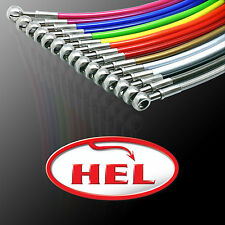 HEL STAINLESS STEEL BRAIDED BRAKE LINES HOSES VW GOLF MK6 2.0 GTI  12/2009 Y2615