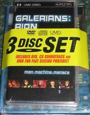 Galerians: Rion DVD, CD Soundtrack & UMD for Playstation Portable 3 Disc Set NEW