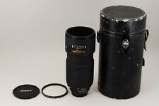 "#1280""""""Near Mint"""""" Nikon ED AF NIKKOR 80-200mm f/2.8 D Lens w/Case from JAPAN"