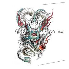 Colour Large back Temporary Tattoo Domineering Sticker Removable Waterproof Men