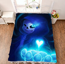 Bed sheet Game Undertale Print Micro Fiber Blanket Japanese Otaku Youth Gift