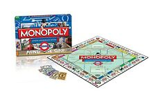 LONDON UNDERGROUND MONOPOLY EDITION BRAND NEW SEALED GREAT GIFT
