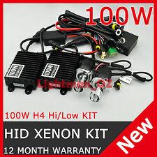 100W AC HID XENON DIGITAL BIXENON CONVERSION KIT H4 Hi/Lo 9003 HB2 Bi-xenon