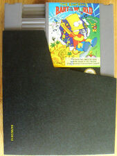 NES Spiel, THE SIMPSON ( Bart vs.the world) mit Hülle