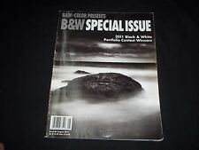 2011 AUGUST B&W BLACK & WHITE MAGAZINE - SPECIAL ISSUE- FRONT COVER- PHOTOGRAPHY