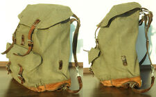 Finest orginal Vintage Swiss Army Backpack year 1962 Best Quality