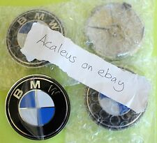 BMW E46 Centre Caps 4x 68mm wheel Badges