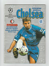 Orig.PRG   Champions League  1999/00  FC CHELSEA - FEYENOORD ROTTERDAM !! SELTEN