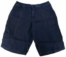 Paul & Shark YACHTING Kurze Hose Pants Shorts Trousers Gr. 50 US 34 Leinen Linen