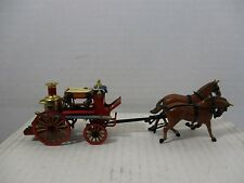 1/43 SCALE LOOSE MATCHBOX MERRY WEATHER GREENWICH FIRE ENGINE W/ HORSES