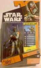"Star Wars Action Figure of Bounty Hunter BOBA FETT Which Is  3.75"" Tall"