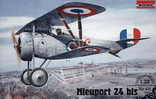 Nieuport 24 bis fighter WWI    1/32  by Roden  # 611