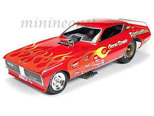 AUTOWORLD AW1118 1971 GENE SNOW RAMBUNCTIOUS DODGE CHARGER NHRA FUNNY CAR 1/18