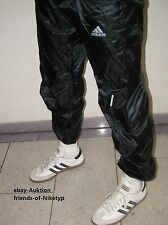 adidas like Cal Surf shiny nylon trousers trackies wetlook Glanz Sporthose M=48