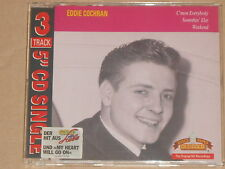 EDDIE COCHRAN -C'mon Everybody / Somethin' Else / Weekend- CDEP