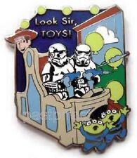 Disney Pin HTF STORM TROOPERS Toy Story Mania Woody PIXAR Ride Star Wars Retired