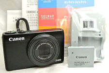Canon Powershot S120 12.1MP Point & Shoot camera *black *warranty *tested